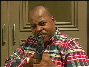 Carl Winslow's got a gun