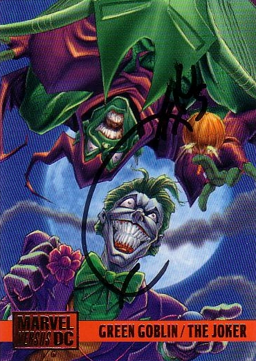 Marvel vs DC Green Goblin Joker