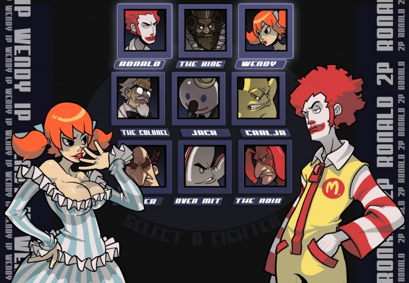 Fast Food Mascots to do battle on the first episode of CS Swampfire!
