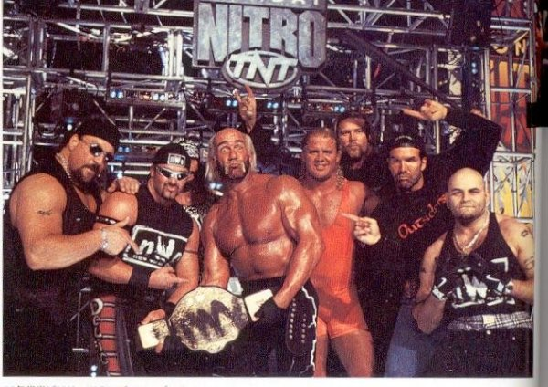 Wrestling faction The New World Order (NWO) ran roughshod over WCW