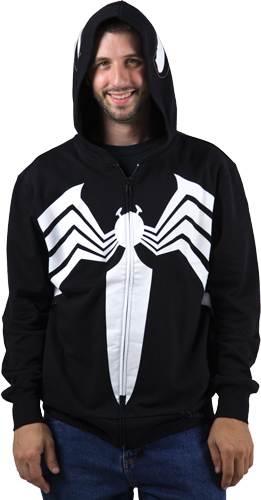 Warning: This hoodie will not turn you evil nor have you dancing funky to James Brown in the streets.