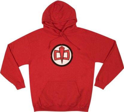 Believe it or not, I'm wearing a hood!
