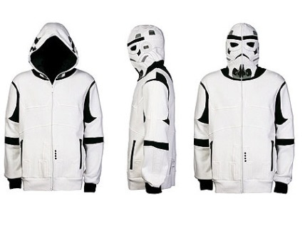 Aren't you a little short for a Storm Trooper hoodie?