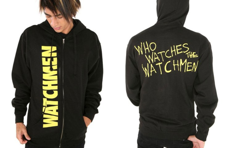 An appropriate hoodie indeed. Neighborhood watch, my ass...