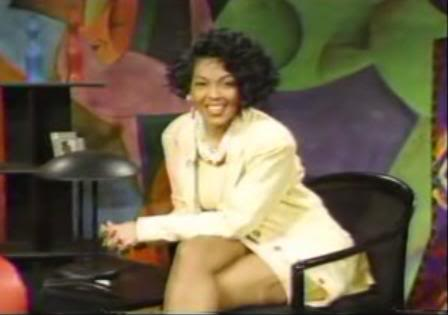 Madelyn Woods (and those legs of hers) were one of the reasons our TV's stayed on BET in the early 90s.