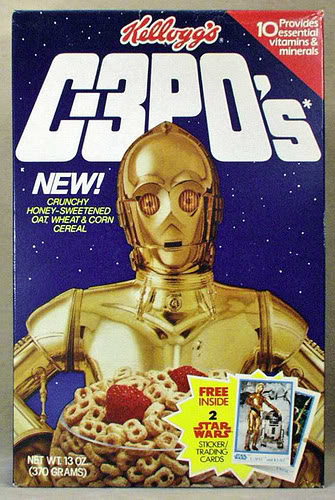 C-3PO's belonged in the garbage mashers on the detention level.