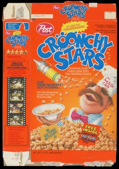 The Muppets' Swedish Chef had his very own cereal...