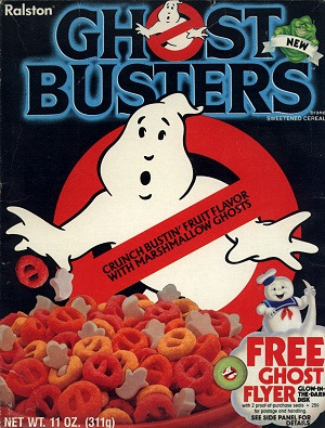 FRUIT FLAVORED O'S! MARSHMALLOW GHOSTS! WHATCHA GONNA CRUNCH?