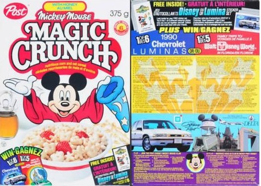 Mickey only peddled his crunchy wares North of the Border, where Simon from Die Hard With A Vengeance was hiding out.