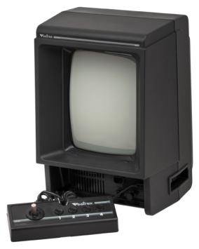 The Vectrex console.