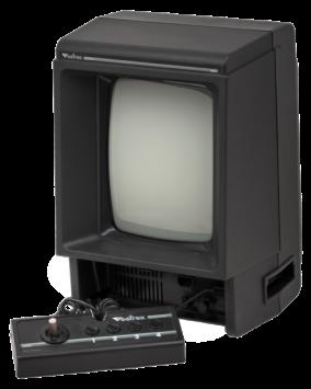 The Vectrex console.