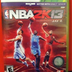 NBA 2K13. Don't play this as much as I did when it dropped, but still a great value fo the money. Turn off your Kinect sensor if you have a potty mouth like me, or risk getting called for a technical foul every couple minutes.