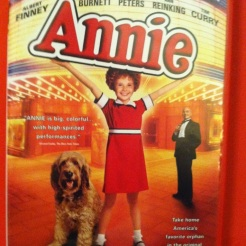 """My DVD copy of """"Annie"""", the 1982 movie smash hit based on the musical. Carol Burnett as Ms. Hannigan was brilliant."""