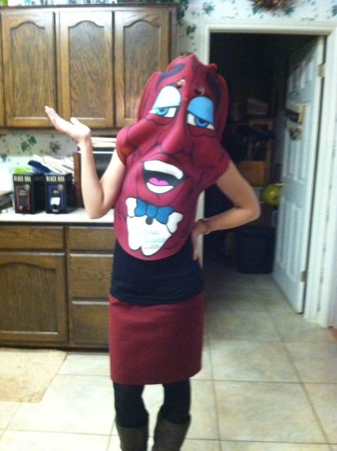 california raisin - California Raisin Halloween Costume