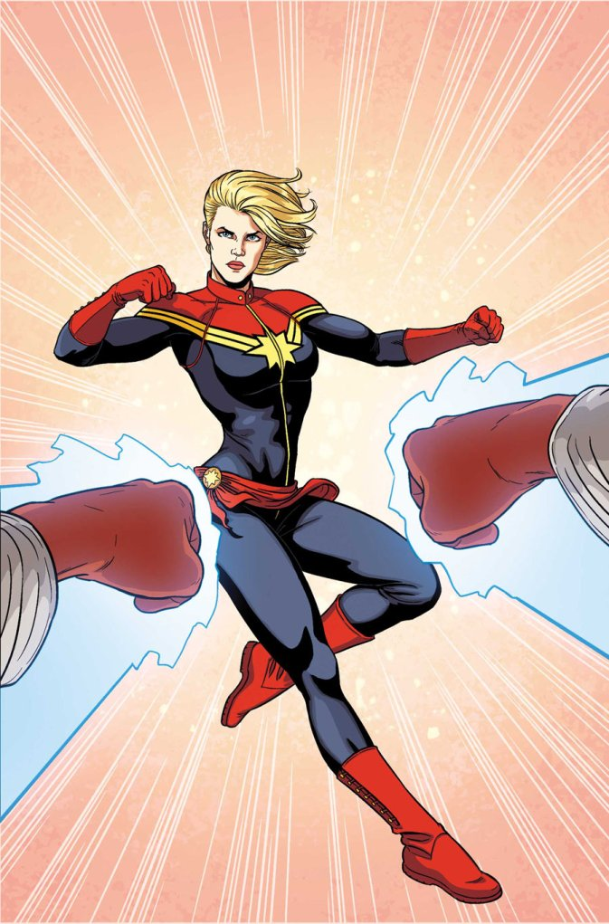 Carol Danvers is a longtime veteran of the Marvel Universe. As capable a military strategist as Captain America and Nick Fury, Captain Marvel is also one of the most powerful members of the Avengers.