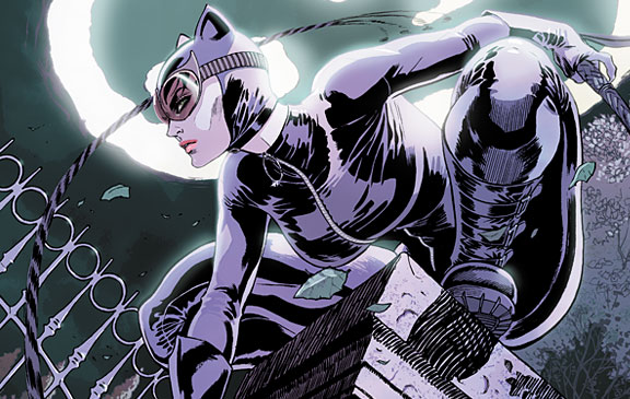 Selina Kyle straddles the line between villain and hero, but one thing that never changes is the thrill of the theft and her affection for the man with the pointy ears.