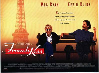 Meg Ryan leads the league in rom coms. Kevin Kline killed it playing a swarthy Frenchman who wants to open up his own winery.