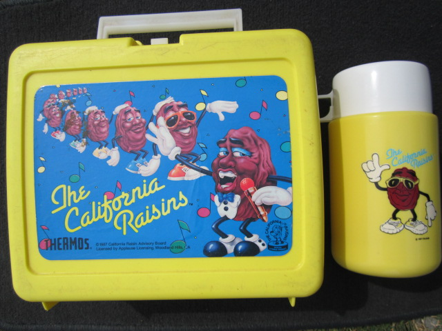 Lunch Box, Calif Raisin