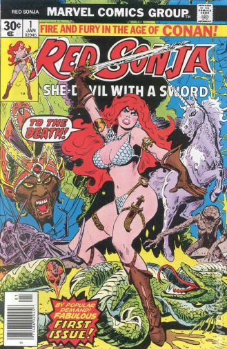 Red Sonja was the She-Ra to Conan's He-Ma... look, she was awesome!