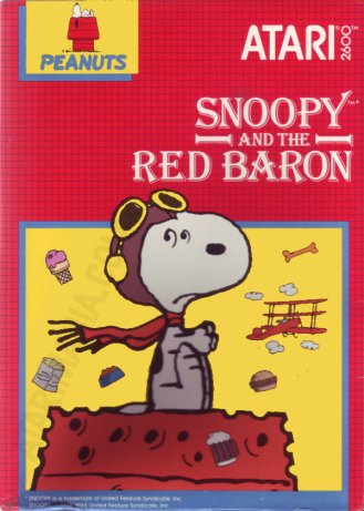 Snoopy and the Red Baron. Good Grief!