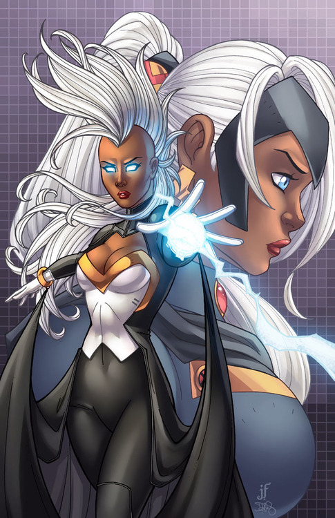 Ororo Munroe  came on board the X-Men with a wave of newer mutants. Since her debut, she's led the team several times and at one time was the queen of Wakanda. Now back with her people and leading X-Force, Storm continues to be a force to be reckoned with...