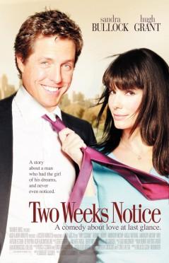 Hugh Grant at his best, and that Sandra Bullock lady ain't too bad either.