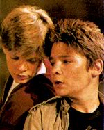 Mouth and Stef were an unlikely couple from The Goonies