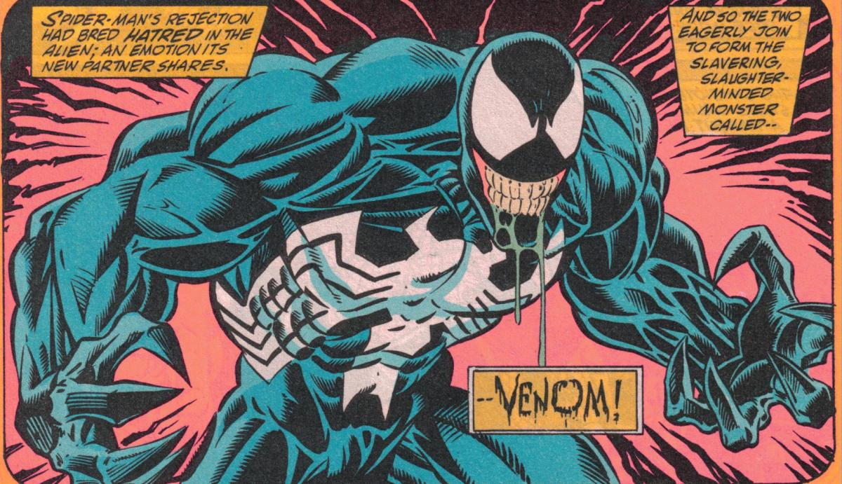 and then... VENOM!! (The League, pt. 2)