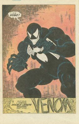 """Honey, I'm Home!"" - Venom's first full appearance in comics is a doozy! Amazing Spider-Man #299"