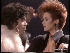 Prince. Sheena Easton. Not enough conditioner to go around!