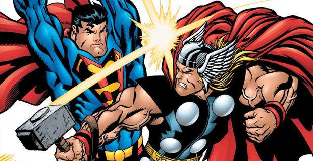 Superman-vs-Thor
