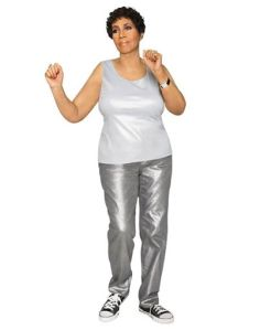 Auntie Aretha in Silver