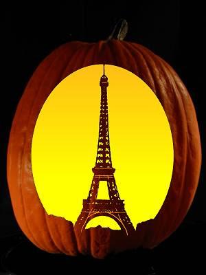 EiffelTowerPumpkin