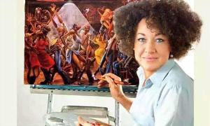 Rachel Paints