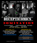 Decepticomics Domination Flyer