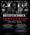 Decepticomics Domination Flyer