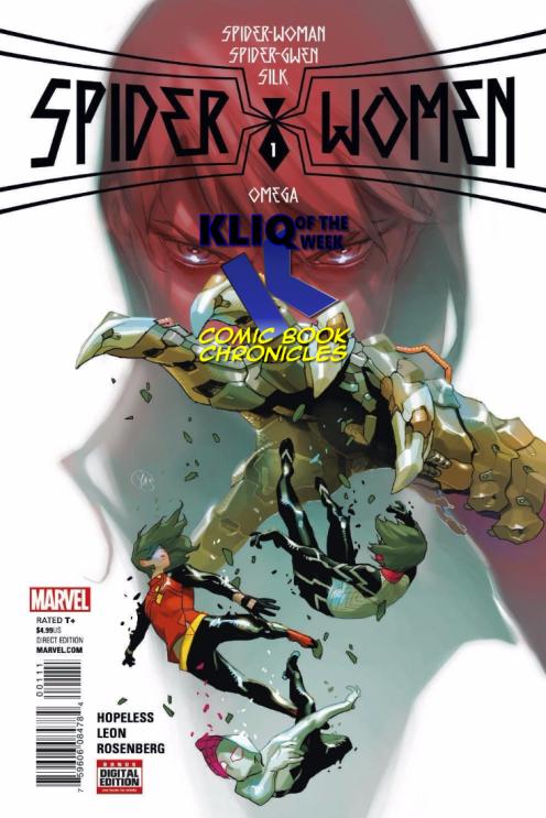Spider-Women Omega #1 KOTW